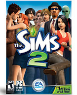 The Sims 2.  Click on image to go to the Electronic Arts store.